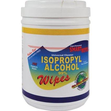 JNJ Industries SW100IPA ALCOHOL SMART WIPES 100/PK JNJ
