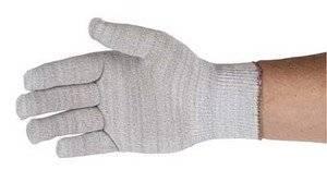 QRP Gloves Knit-Stat Anti- Static Lint Free Nylon/Carbon L