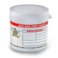 AIM Water Soluble 488 Solder Paste SN63/PB37 -325+500, Type 4 88.5% (500 gram Jar)